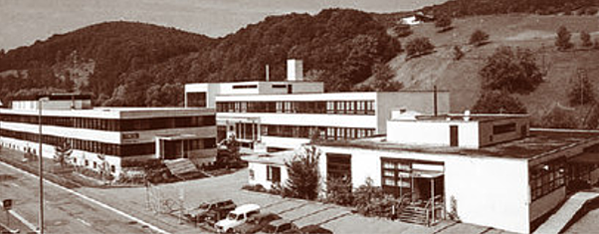 The company's very first building in 1971 (Source: Company website)