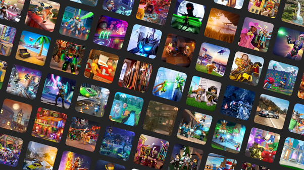 A small selection of the millions of adventures available on the platform (Source: Roblox)