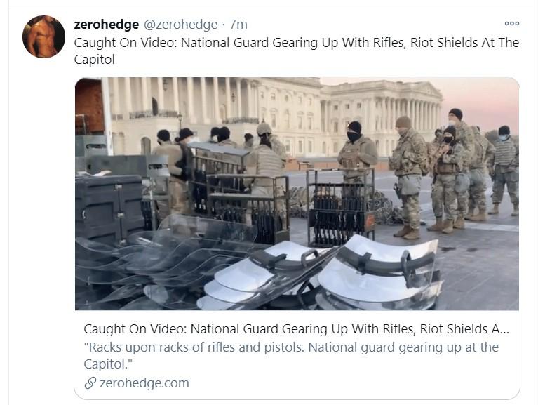 capitol rifles tweet