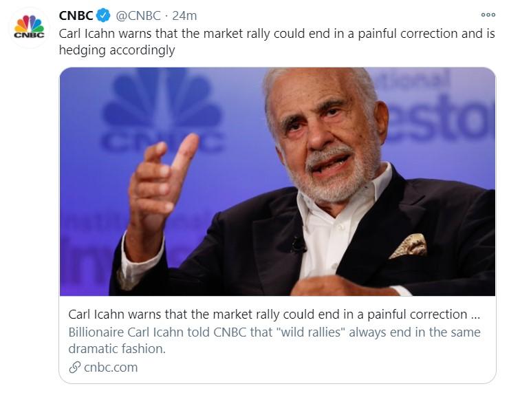 carl icahn correction