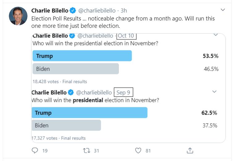 charlie trump tweet