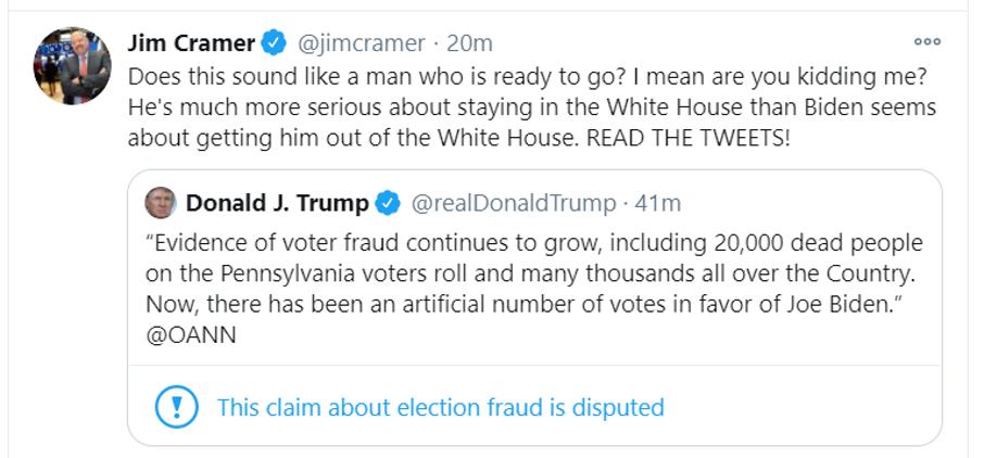 cramer trump tweet
