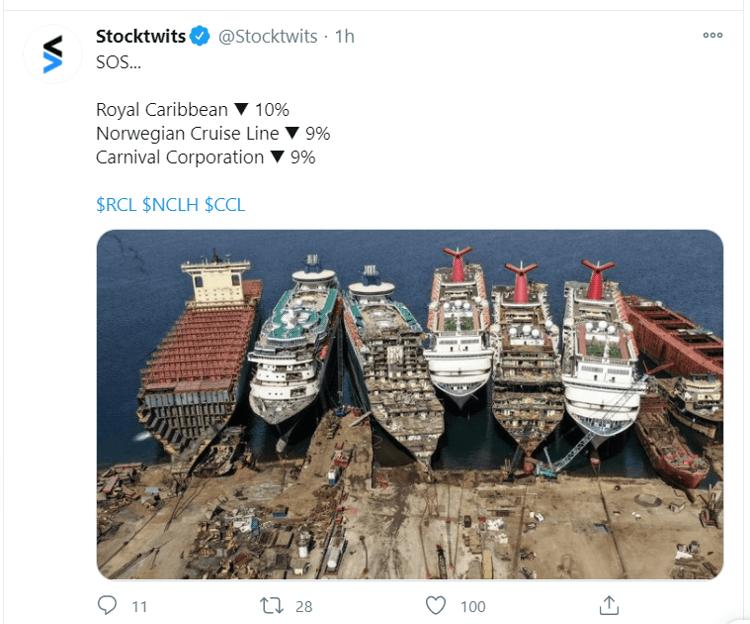 cruise tweet