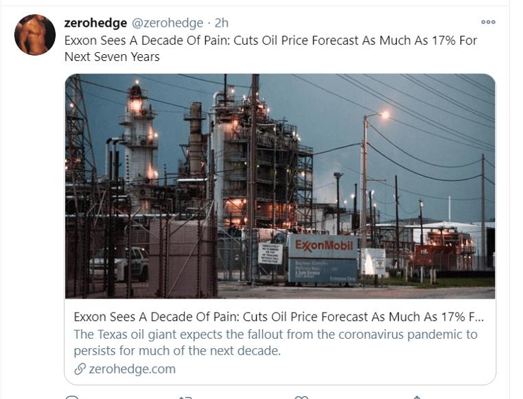 exxon tweet