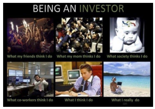 Being an investor
