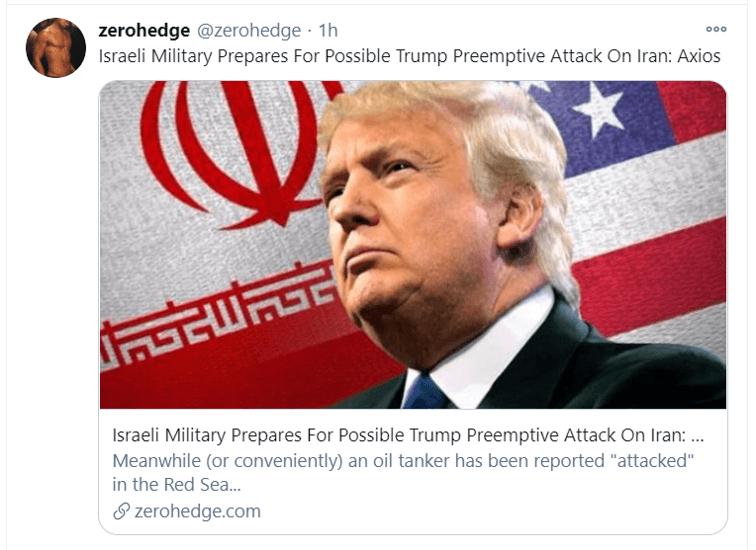 israeli military tweet