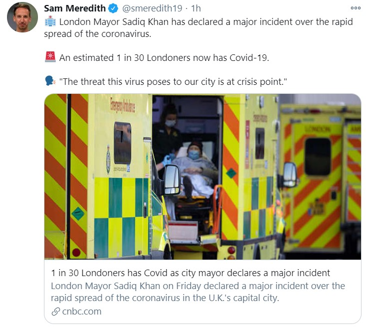 london covid crisis_tweet