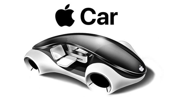 Potential Apple car prototype