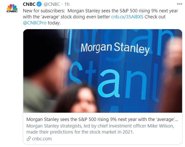 morgan stanley 9% tweet