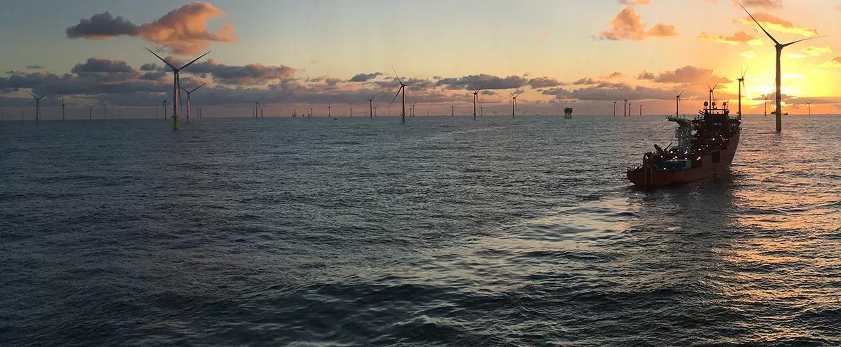 Offshore wind turbines (Source: GE website)
