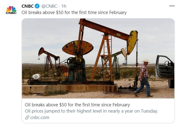 oil 50 tweet
