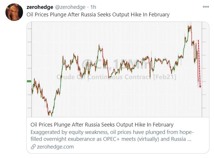russia opec output hike tweet