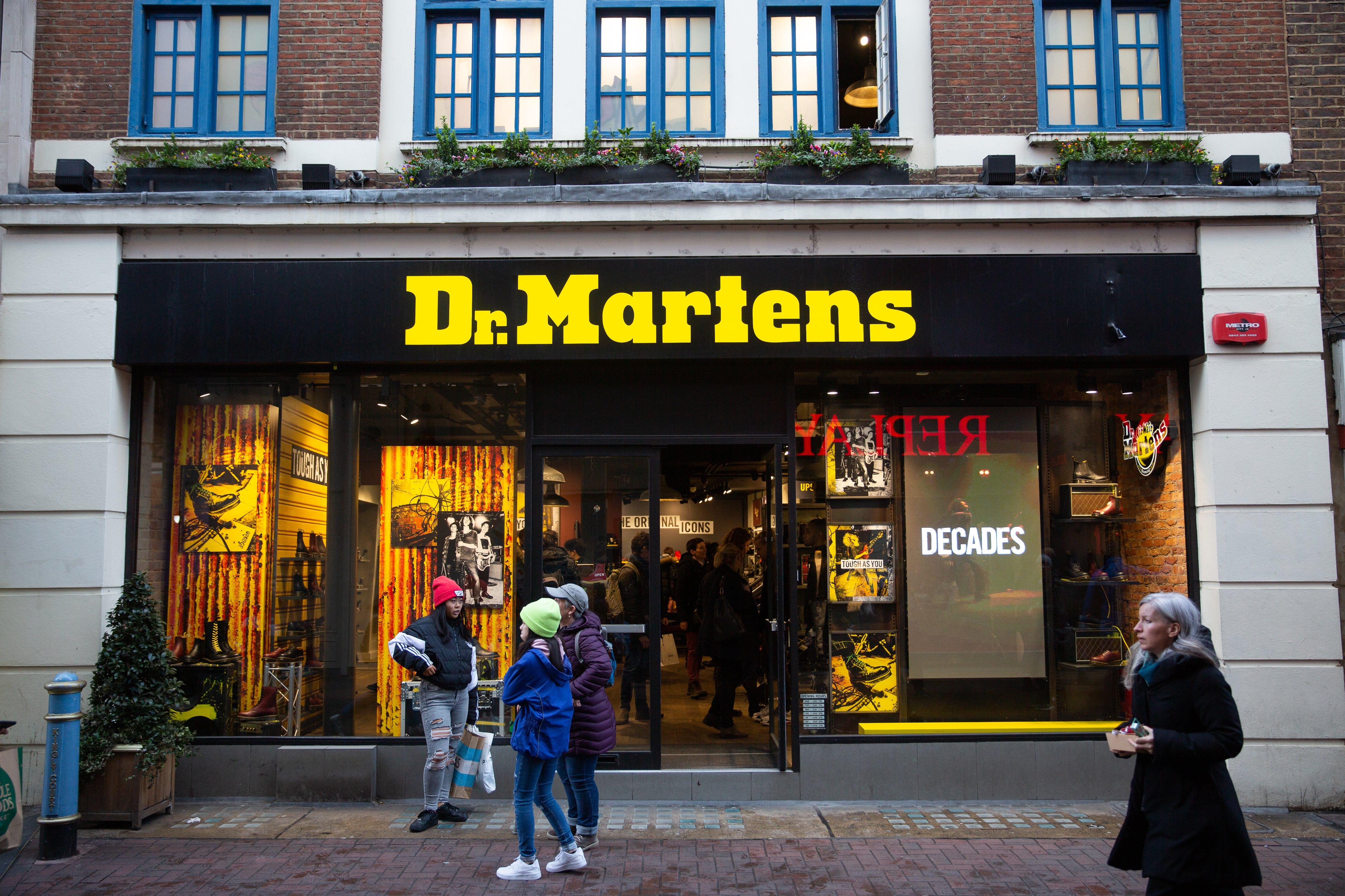 Dr Martens store