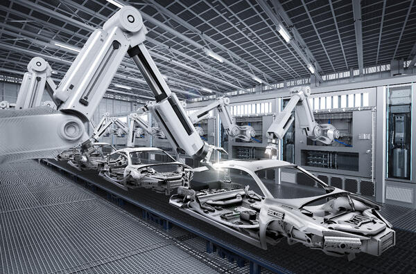 Apple car assembly line