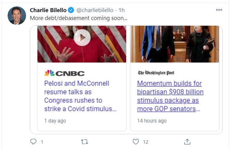 stimulus tweet