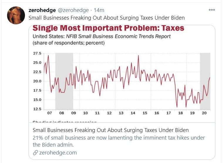 taxes tweet