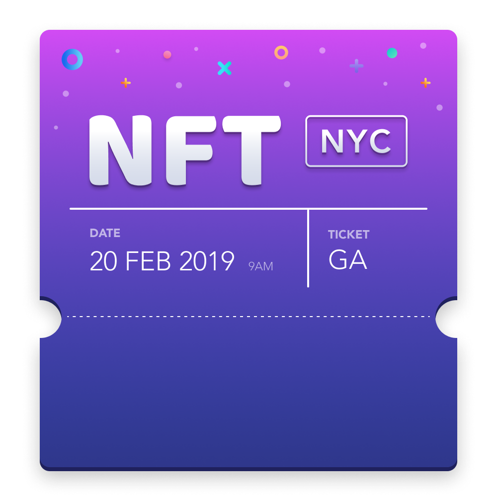 NFTs as tickets