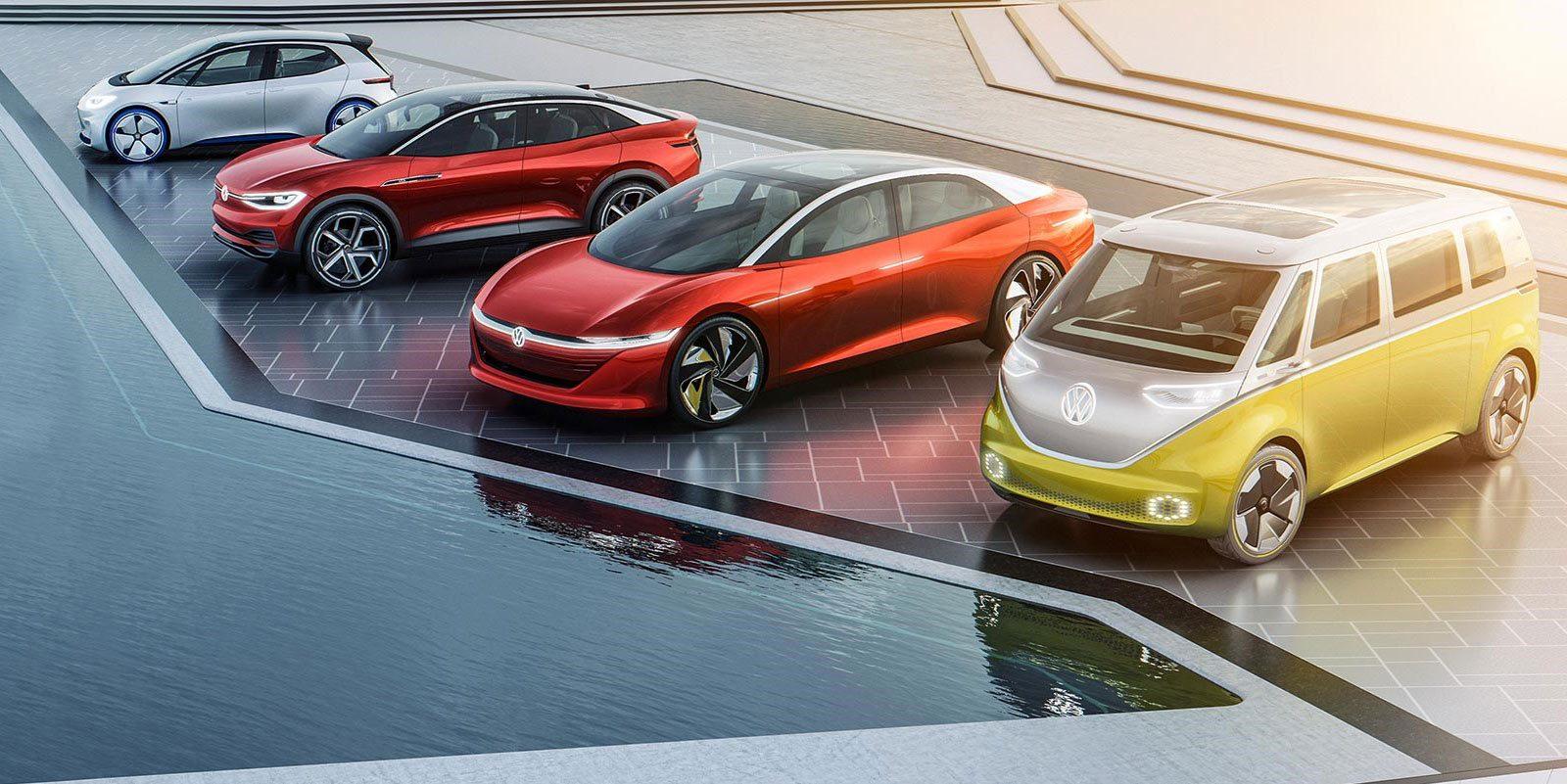 Vw car electric models