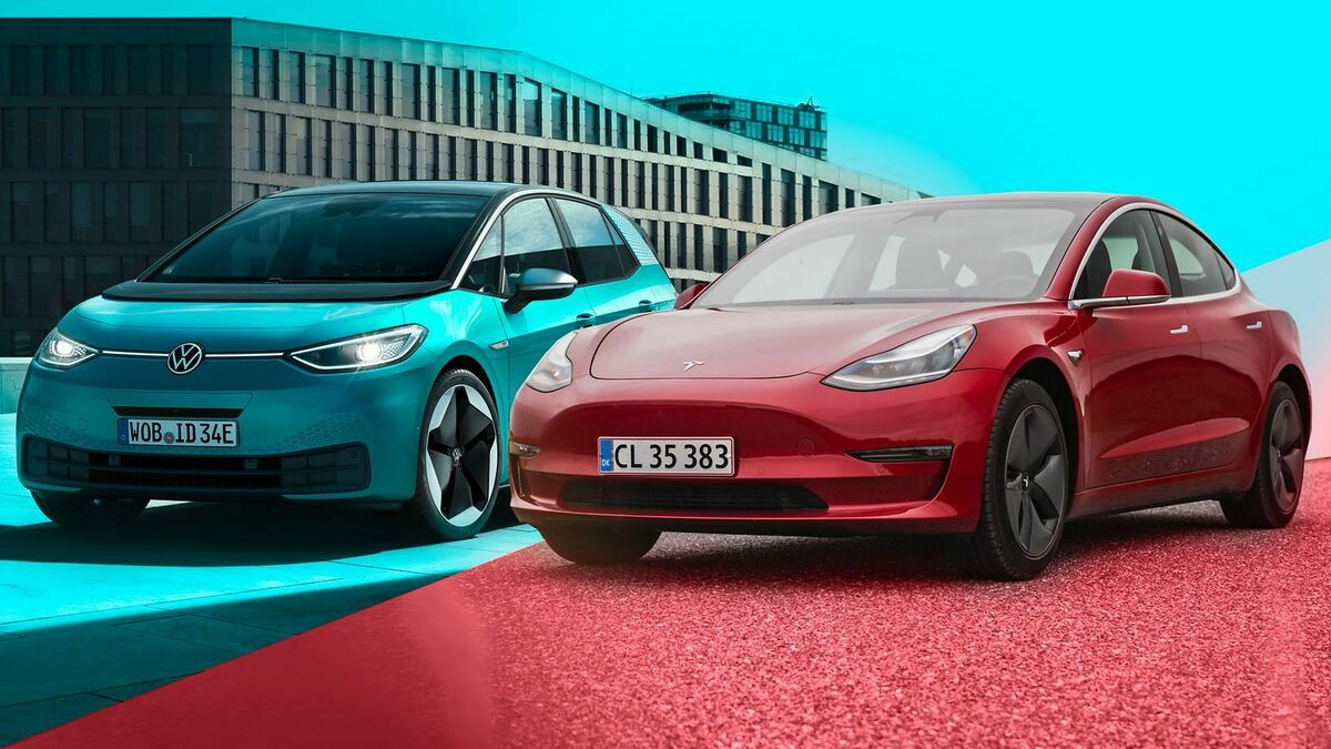 UBS believes that dominance in EVs will fall to Tesla and VW