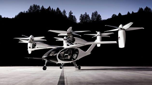 flying taxi joby aviation