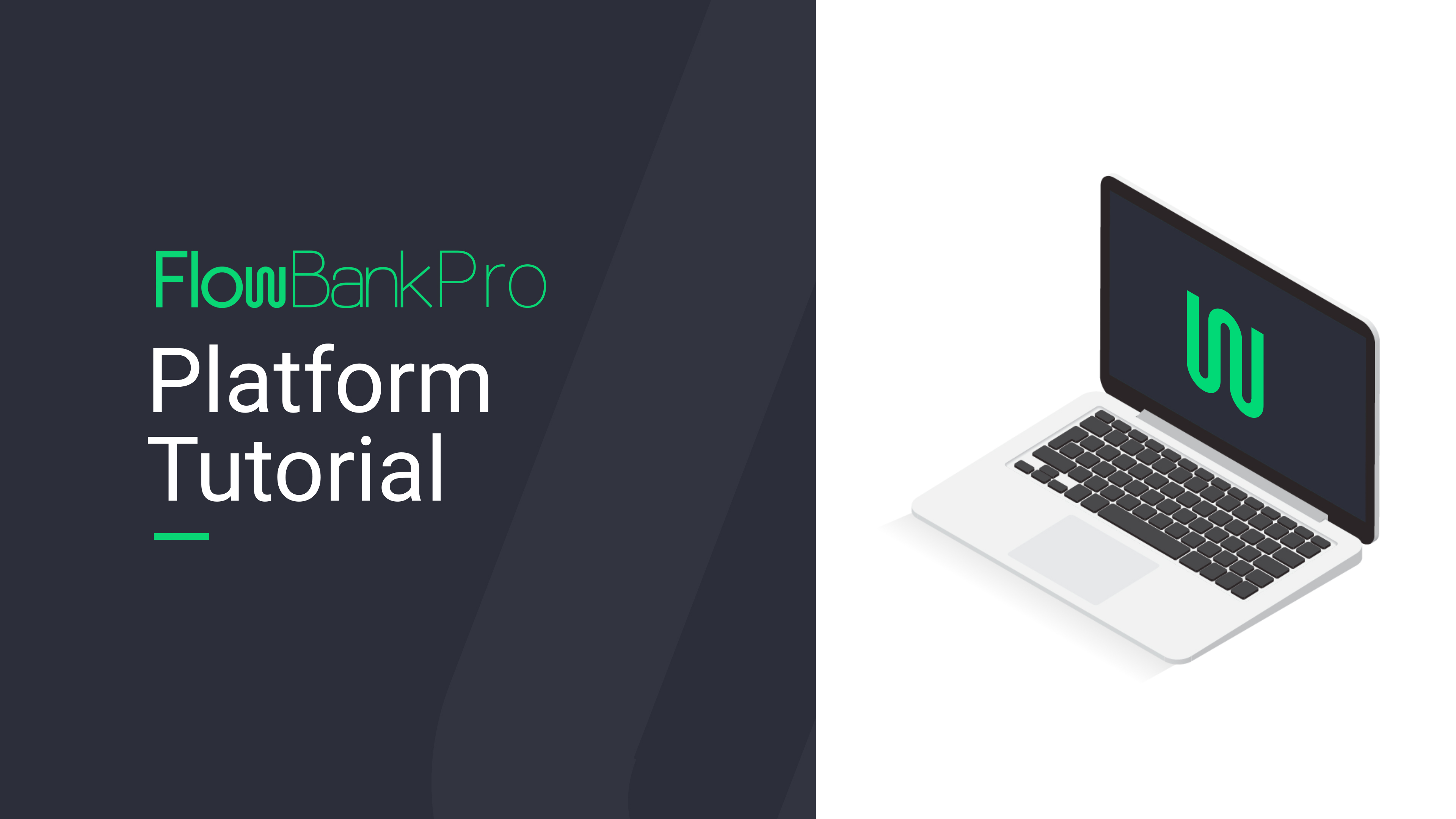 FlowBank Pro Platform Tutorial [video]