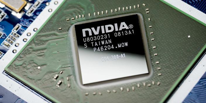 Nvidia stock price falls, blaming cryptocurrencies