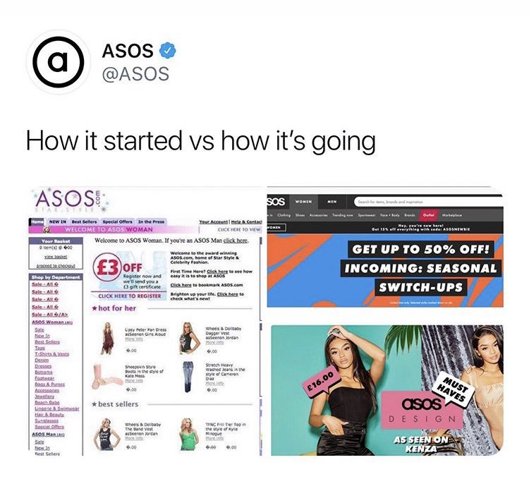 ASOS benefits from lockdown online fashion shopping