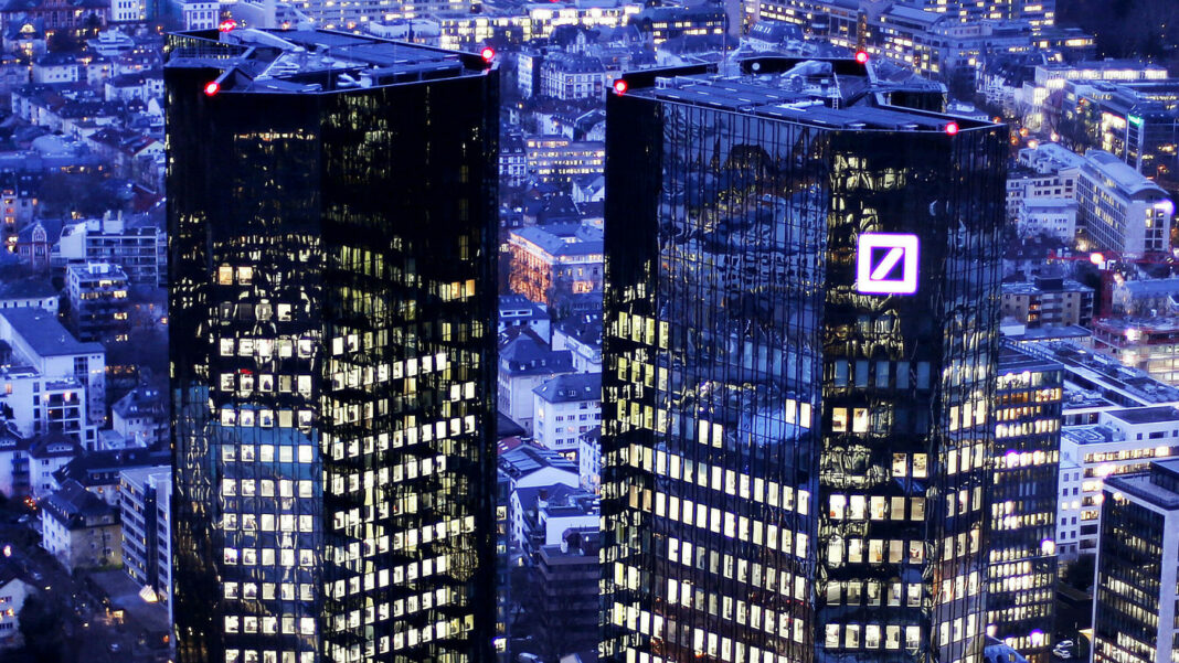 Deutsche Bank predicts 'Hard' equity valuation correction