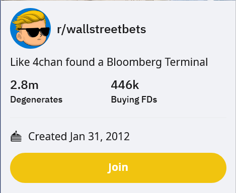/r/wallstreetbets is getting out of control
