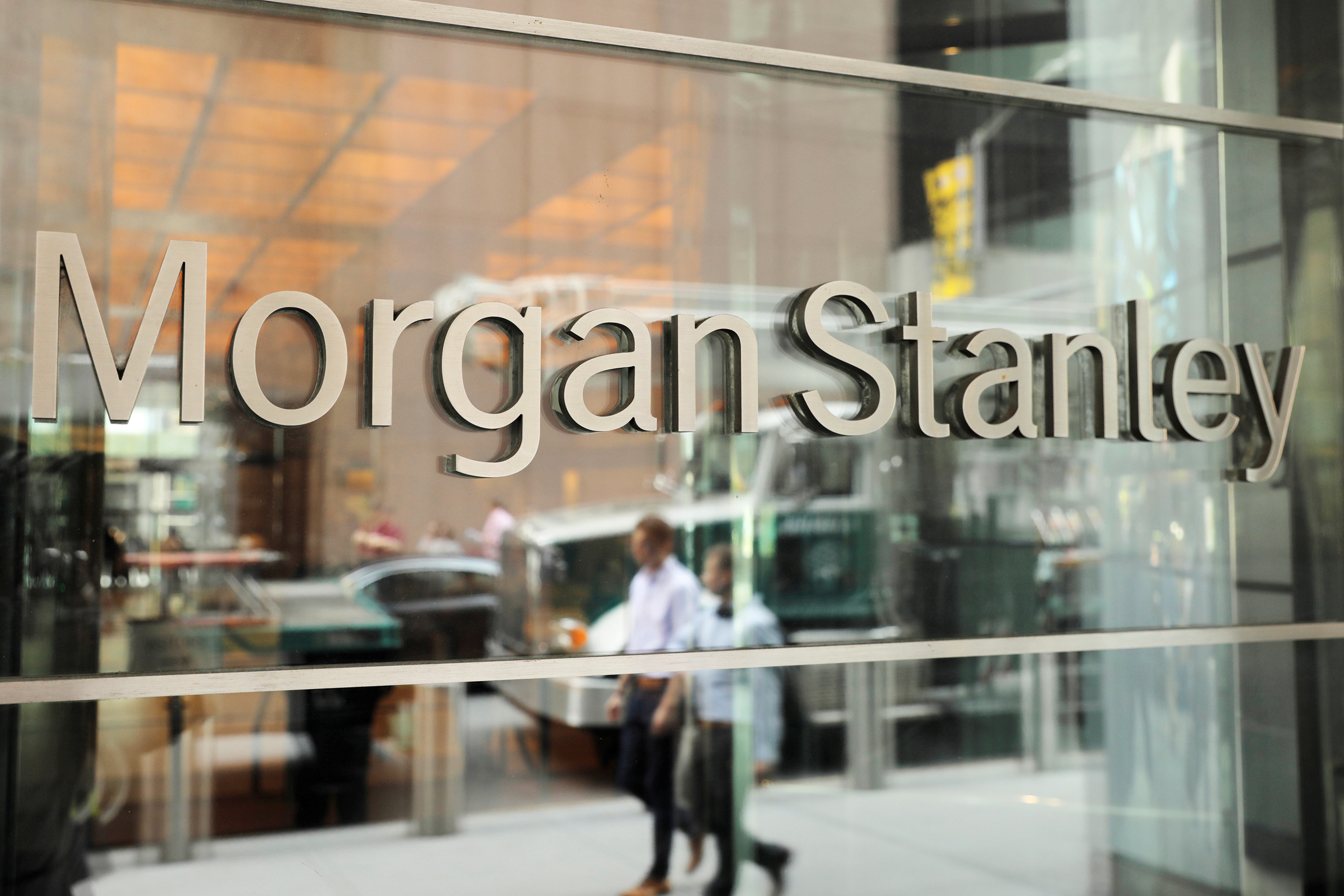 Morgan Stanley will be the first big bank to offer crypto funds