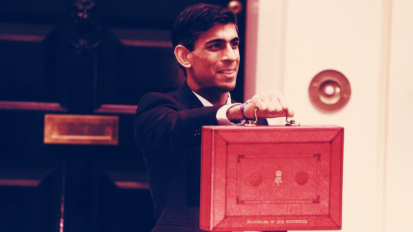 UK Chancellor Sunak surprises with Super deduction in boost to UK equities