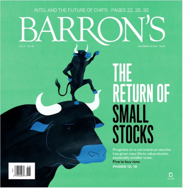 Barron's cover page: