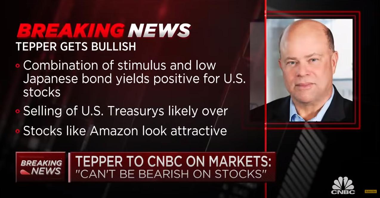 ICYMI - David Tepper's well-timed bullish call on CNBC