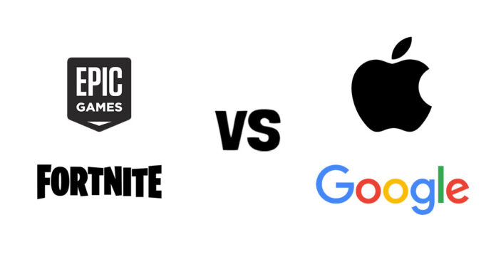 Fornite vs Apple and Google