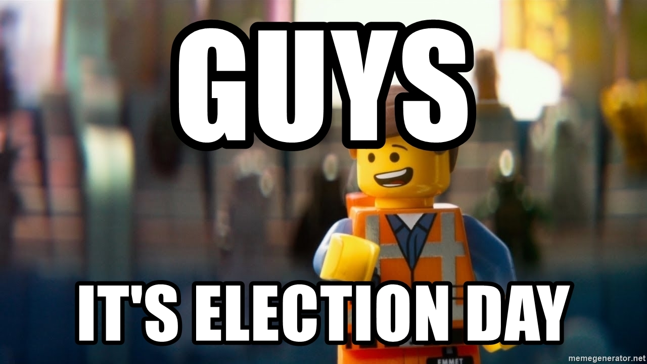 It's election day