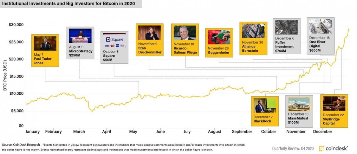 institutional bitcoin investors influencers