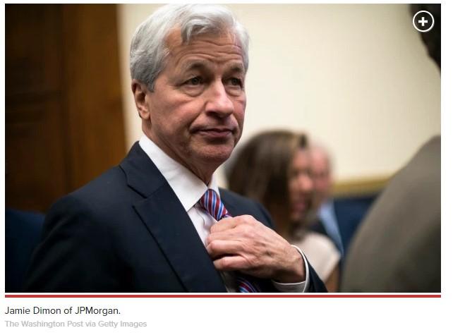 Jamie Dimon, CEO of JP Morgan