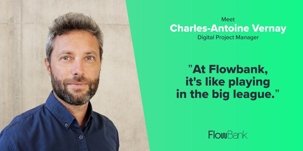 Rencontrez Charles-Antoine Vernay