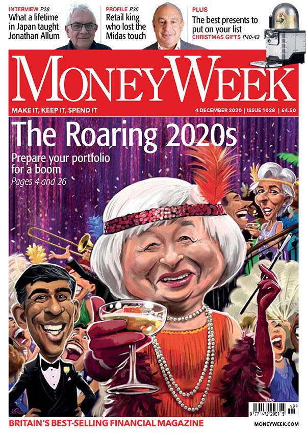 The Roaring 20s! @MoneyWeek cover