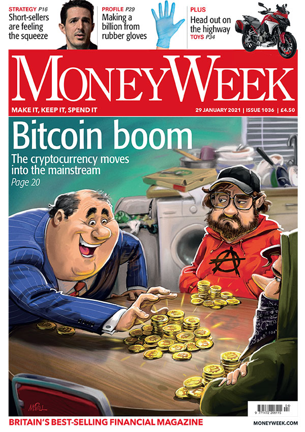 Friday levity -> @Moneyweek front cover about Bitcoin going mainstream