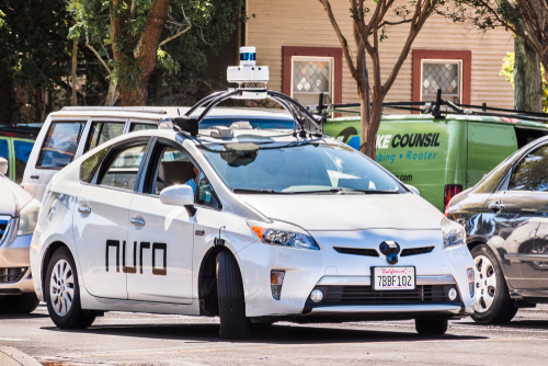 NURO DRIVERLESS TECHNOLOGY CALIFORNIA