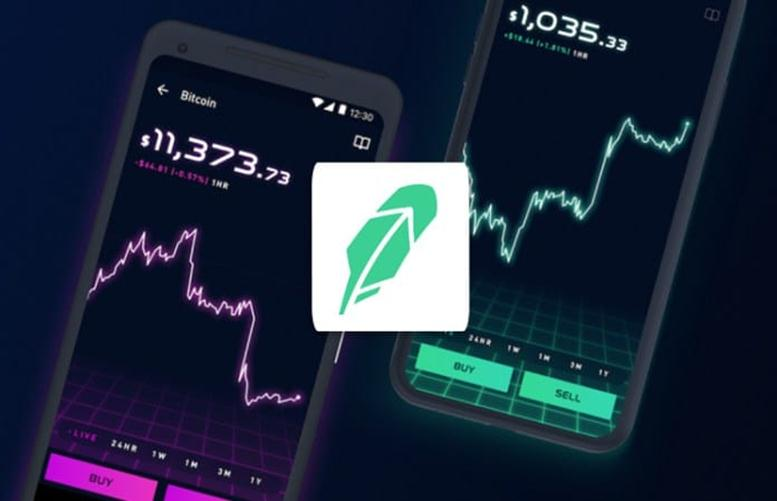 Broker app Robinhood say crypto trading users jumped fivefold in Q1