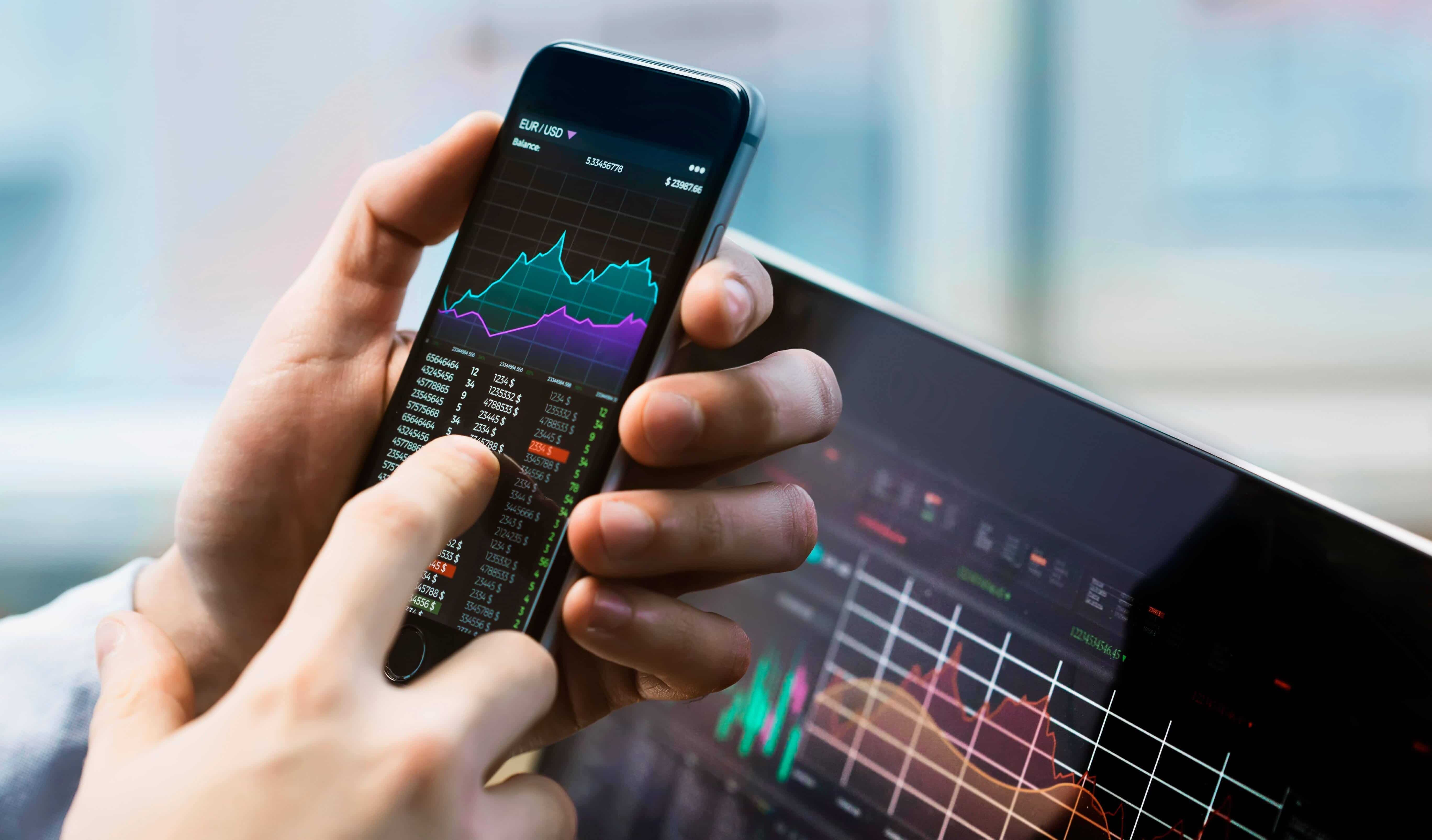 Shares on stock market