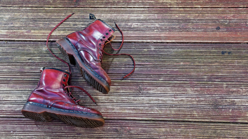 Dr Martens red pair