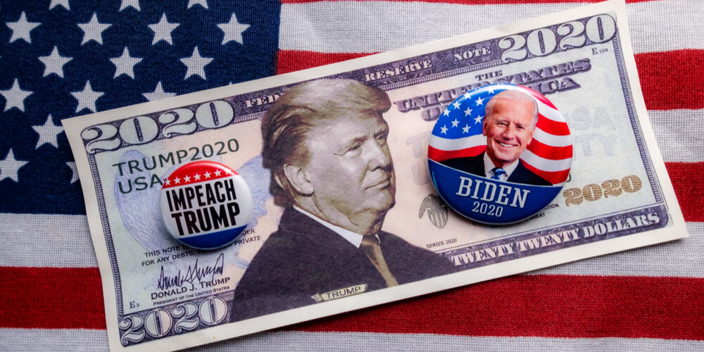 Election investing - grow with Joe or jump with Trump
