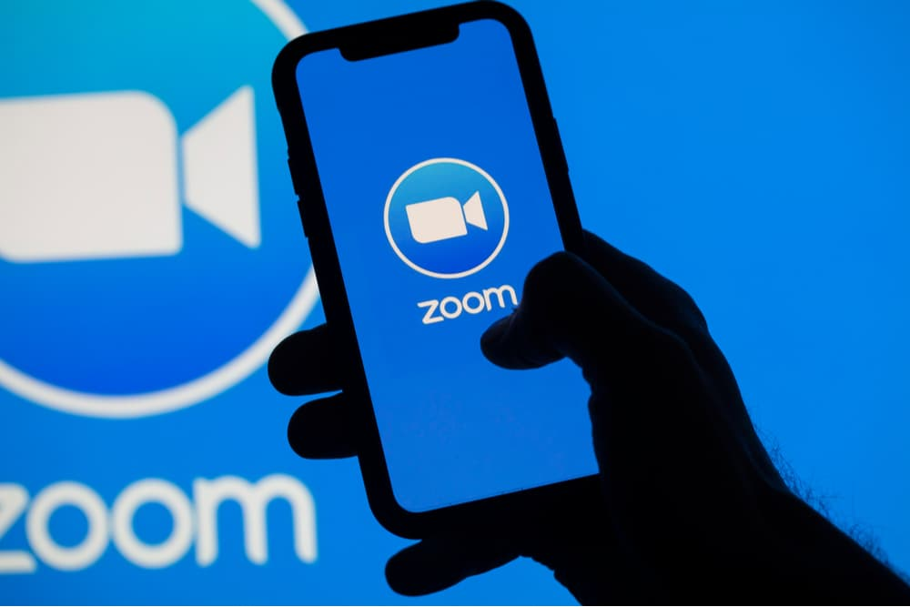 Zoom stock & lasting demand for video conferencing