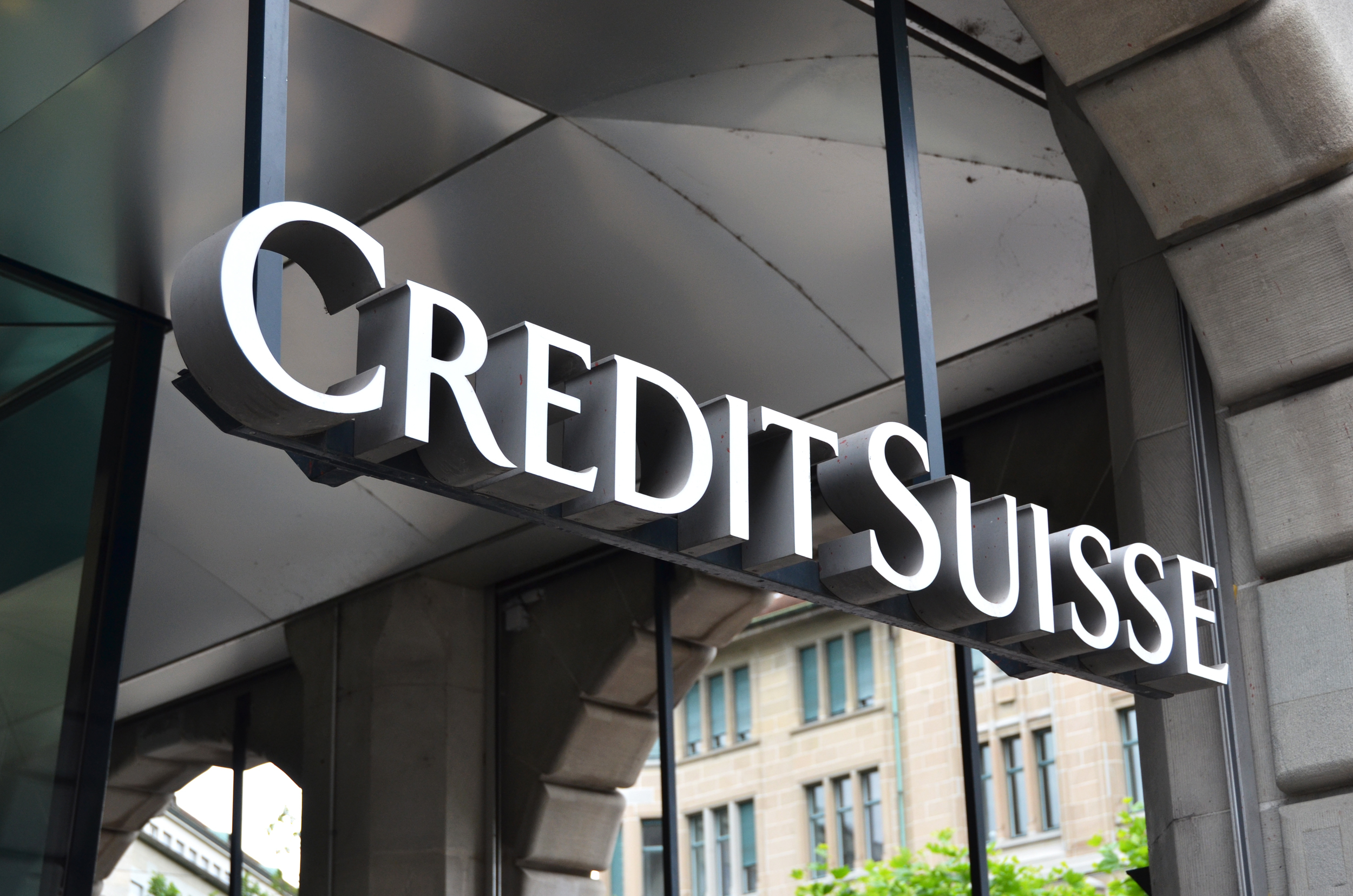 Credit Suisse warns of a highly significant hit to their quarter results