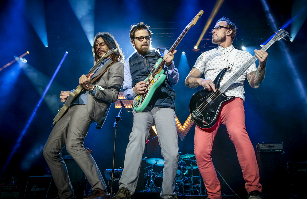 Rockbank Weezer getting in on the NFTs act
